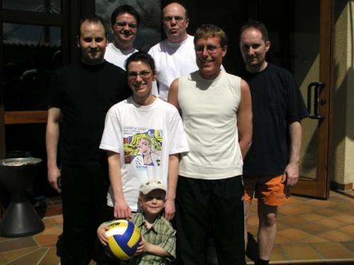 0007 - Wolleball Kapp 2004 Mannschaften