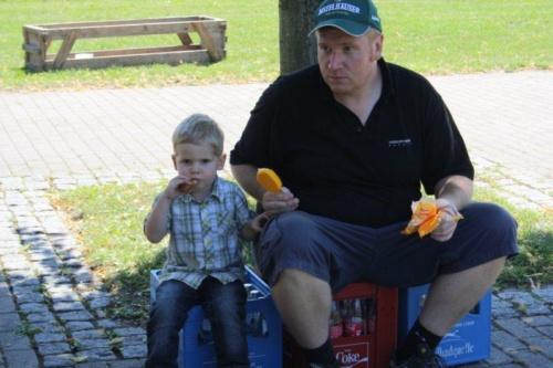 0073 - Kornlupferfest 16.07.2011 - Aufbau