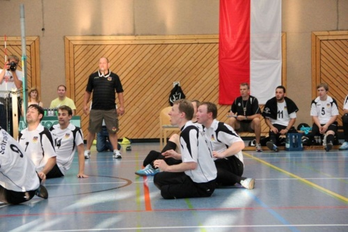 0082 - Offizielles Länderspiel - Deutschland - Brasilien - Sitzvolleyball-Nationmannschaft 2012