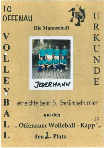 5 1997 Jedermann