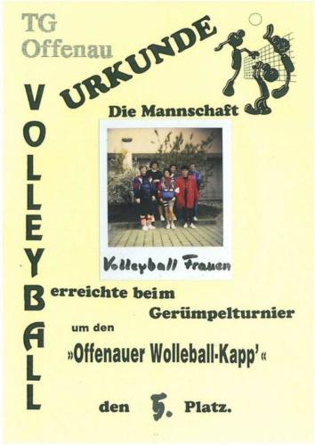 5 1997 Volleyball Frauen